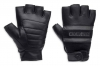 HARLEY DAVIDSON Перчатки без пальцев Centerline Reflective Fingerless Leather S