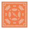 HARLEY DAVIDSON Бандана V-Twin Power Bandana, Light Orange & Tofu Wash