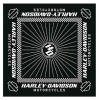 HARLEY DAVIDSON Бандана Lgnition Bandana Checkered Flag Border