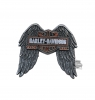 HARLEY DAVIDSON Значок Long B&S Wings 3D